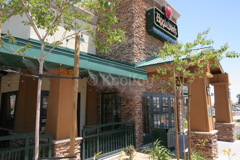 Applebees Dining Area