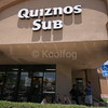 Quiznos Dining Area