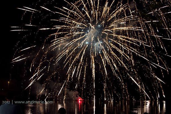 Gardiner Ribbon Cutting_Fireworks_Carnival