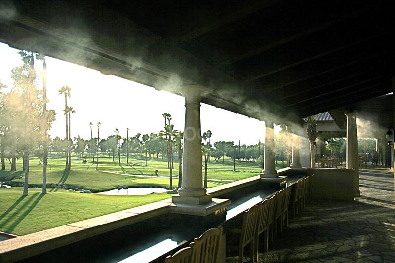 Inside Misting at Soboba