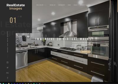Webdesign for Real Estate Images