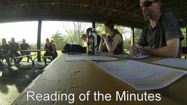 Reading of the Minutes