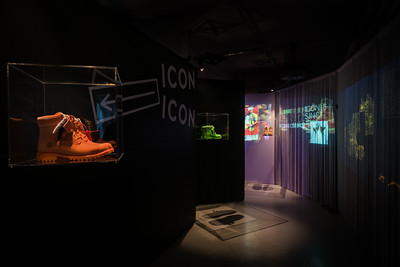 Interior display image made for Timberland