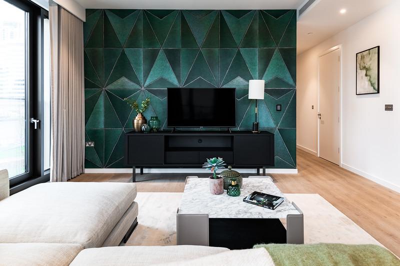 Luxury Short Term Rental Project - Sitting Area