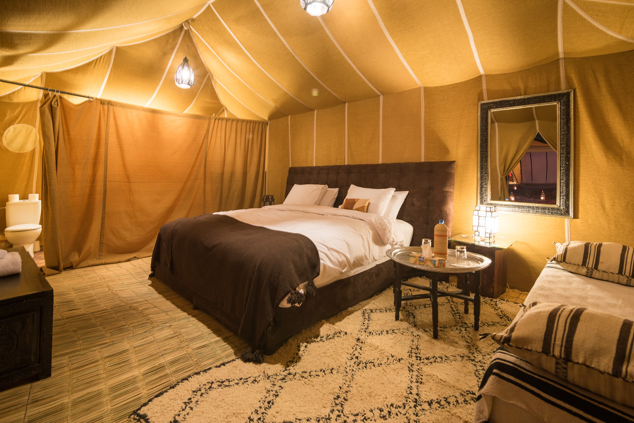Luxury Tented Camp Interior Commission