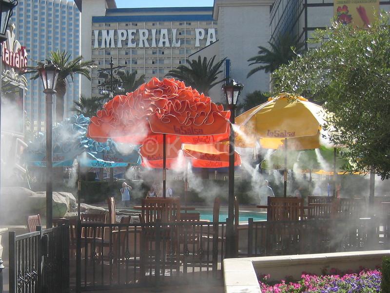 La Salsa Misting Umbrellas