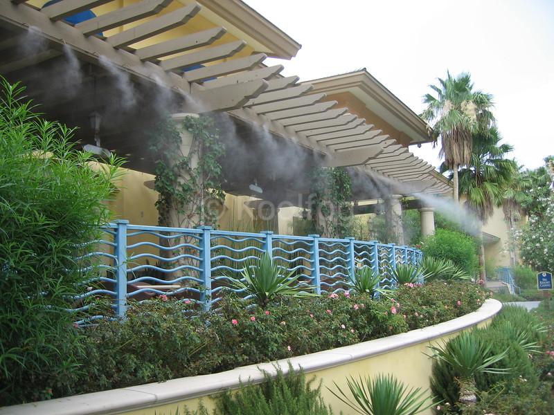 Spa Casino Walkway Exterior