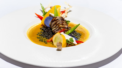 Food Artist: Chef Peter Vogel, GolfPanorama Wellness Hotel, Thurgau - Switzerland.
