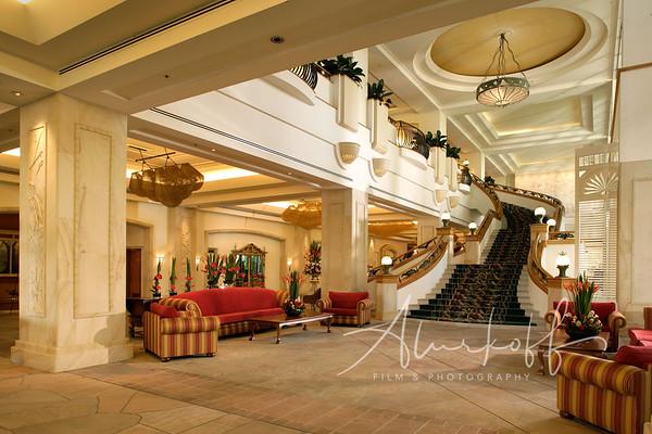 Hotel-Lobby