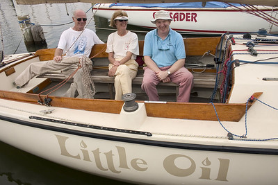 Dean & Kay Snider, Dave Curtin Dean Snider is Past Commodore They are aboard Little Oil