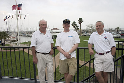 Past Commodore Ned Van Maanen, Carter Perrin, Buddy Brown