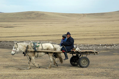 Travel in Gobi desert, Mongolia.