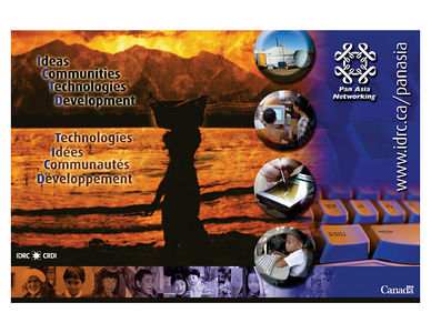 Few of my images used in IDRC's Banner for PAN (PAN Asia Networking)