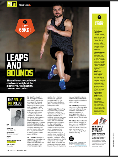 Men's Health Nov 2014