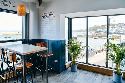 Balcony Bar, St Ives Cornwall