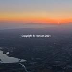 Aerial 13-Irvine-sunset