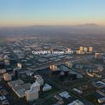 Aerial 9-Irvine Long shot-dusk