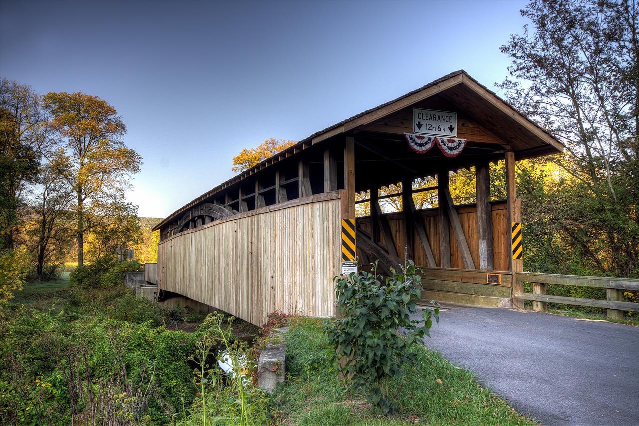 Claycomb Covered Bridge