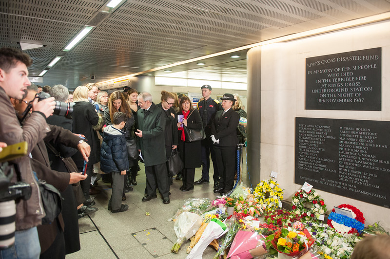 Remembering the 31 people who died in the King's Cross Fire on the night of 18th November 1987