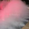 Fog Installed Below Rim on Fountain