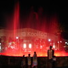 Red Lighting with Fountain Fog