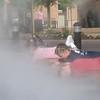 Emersion in Cool Fog Effect