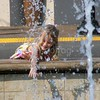 Playing in Fountain