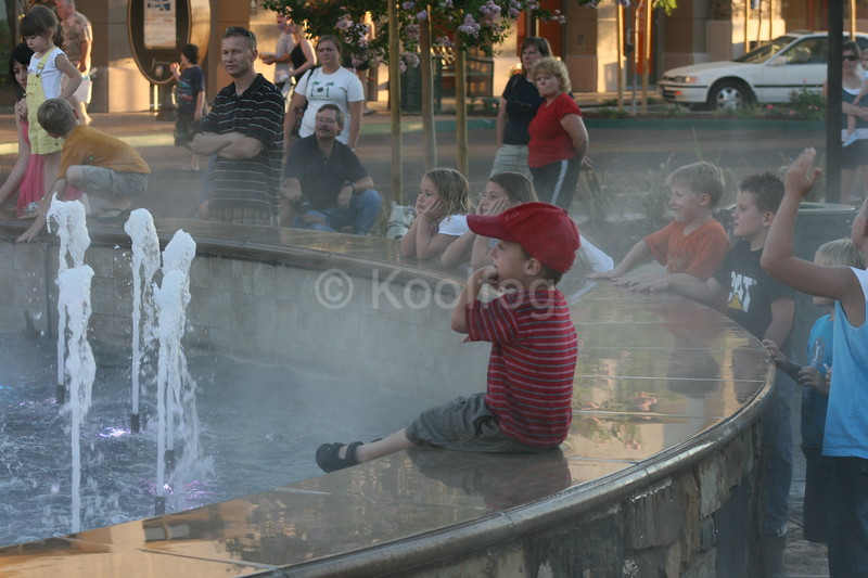 Boy Cools Down