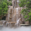 Tryst 3 Story Waterfall into Fog Basin