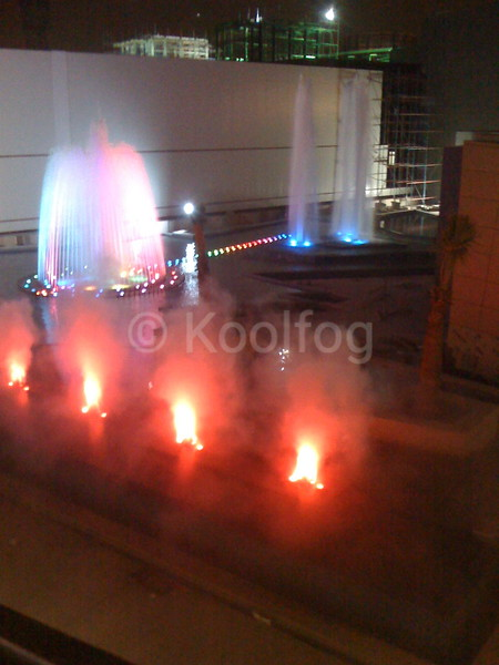 Al Rai Dubai Fountain with Faux Flame