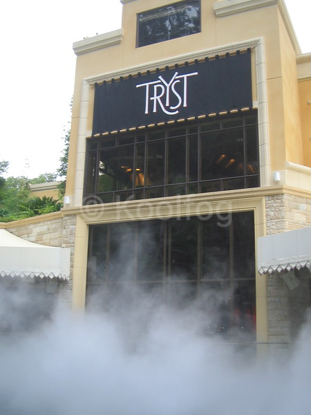 Tryst Nightclub Deck