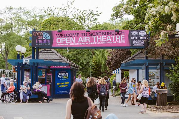 Scarborough Open Air Theatre.