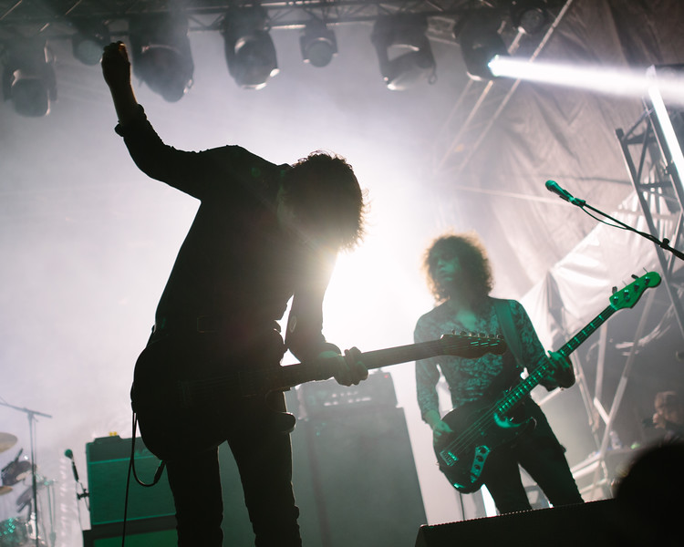 Catfish and The Bottlemen headline Times Square in Newcastle.