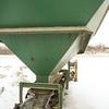Exterior hopper and conveyer