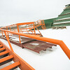 Stairs & Catwalks.  3 bin AGG Hopper