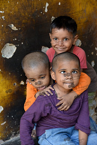 Children playing in the Mobile Creches run Centre in Seemapuri, Delhi.  Mobile Creches works with birth to 12 year old children living on the construction sites and slums of Delhi(NCR) since 1969. Integrated Daycare Centers for children on construction sites are run. Mobile Creches has so far reached out to 7,50,000 children, trained 6,500 women as childcare workers, run 650 daycare centres and partnered with 200 builders.  Mobile Creches runs daycares centres where children are provided education, nutrition and healthcare. Community-women and NGOs are trained to provide care and speak-up for the child. The years of experience along with strong-networks helps in the advocacy for policy-change.