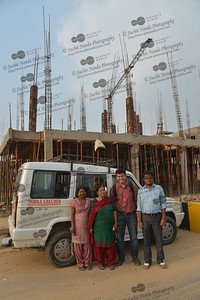 Mobile Creches team at Vatika-83, Gurgaon, Delhi NCR.  Mobile Creches works with birth to 12 year old children living on the construction sites and slums of Delhi(NCR) since 1969. Integrated Daycare Centers for children on construction sites are run. Mobile Creches has so far reached out to 7,50,000 children, trained 6,500 women as childcare workers, run 650 daycare centres and partnered with 200 builders.  Mobile Creches runs daycares centres where children are provided education, nutrition and healthcare. Community-women and NGOs are trained to provide care and speak-up for the child. The years of experience along with strong-networks helps in the advocacy for policy-change.