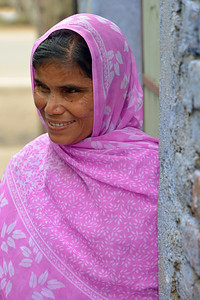 Sakina is a girl with 100% visual impairment. She was trained by Nav Bharat Jagriti Kendra (NBJK) and her everyday activity skills have improved so much that she can go to the market and sells vegetables along with her family. By touch, she can identify the currency and vegetables that are sold which has given her enourmous self confidence.  Nav Bharat Jagriti Kendra (NBJK) was established in 1971 by four engineering graduates who  were sensitive to the causes of disparity, exploitation and poverty with an aim to  establish a just society. Today they are the leading non-profit organization in Jharkhand  running educational institution and health facilities.