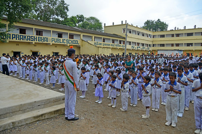 Students of the Surekha Prakashbhai Public School (SPPS) run by Nav Bharat Jagriti Kendra (NBJK) is also the location of the first activity of NBJK. Children from the rural community come to this English medium school.  Nav Bharat Jagriti Kendra (NBJK) was established in 1971 by four engineering graduates who  were sensitive to the causes of disparity, exploitation and poverty with an aim to  establish a just society. Today they are the leading non-profit organization in Jharkhand  running educational institution and health facilities.