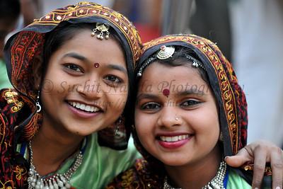 Artists came from Gujrat to the Suraj Kund Mela 2008, Haryana, North India. The Suraj Kund Mela is an annual fair held near Delhi. Folk dances, handicrafts and a lot of fun.