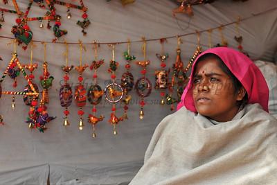 Hand made items constructed and sold at Suraj Kund Mela 2008, Haryana, North India. The Suraj Kund Mela is an annual fair held near Delhi. Folk dances, handicrafts and a lot of fun.