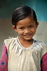 Sweet girl child in a small village near Nagpur, Central India.