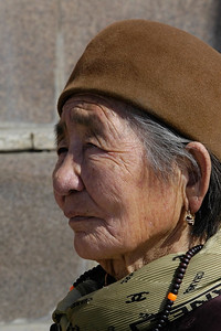 Portraits of a few local Mongolians.