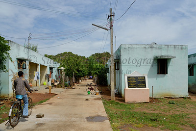 Colony - community living. Rising Star Outreach of India, Kancheepuram District, Tamil Nadu, India