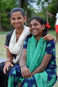 Evening play time. Rising Star Outreach of India, Kancheepuram District, Tamil Nadu, India