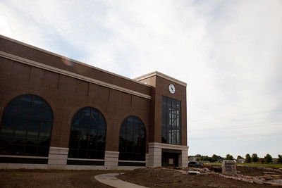 The Renewable Energy Center at Eastern Illinois University in Charleston, Illinois on August 30, 2011 (Jay Grabiec)