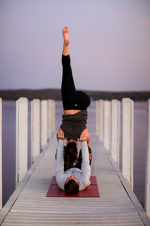 Maura Yoga Shoot
