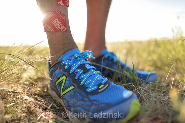 Trail runner to the core. Shot for New Balance