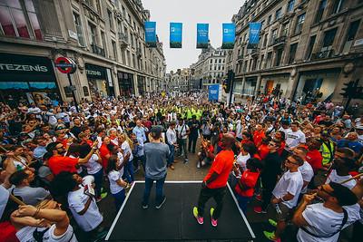 Nike Unlimited London Opening Ceremony - Regent Street, London
