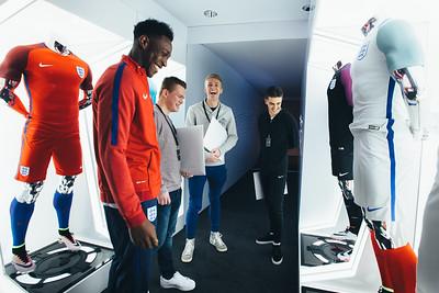 Nike England Kit Launch - Wembley Stadium, London